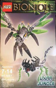 Детский конструктор Bionicle 609-1 Уксар, 89 дет.