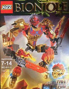 Детский конструктор Bionicle 611-1 Таху, 132 дет.