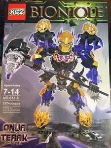 Детский конструктор Bionicle 612-3 Онуа, 217 дет.