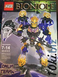 Детский конструктор Bionicle 612-3 Онуа, 217 дет. Конструкторы Лего, Lego в Мелитополе