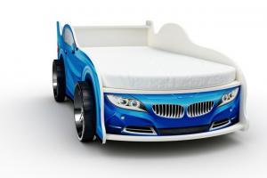 Фото КРОВАТИ-МАШИНЫ ИЗ ДСП Кровать-машина «БМВ», цвет синий