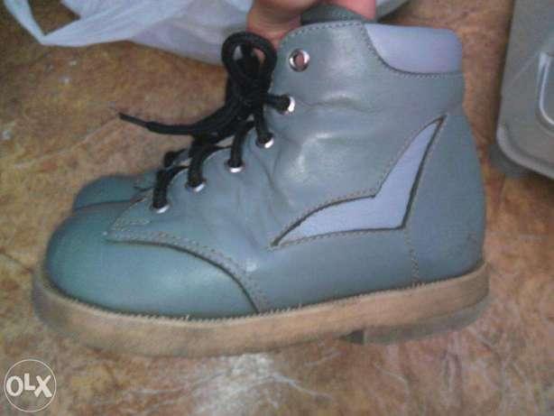Зимние ортопедические ботинки 17см