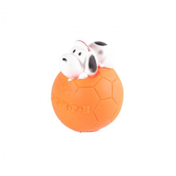 Мяч футбол,с собакой, d 5.5см