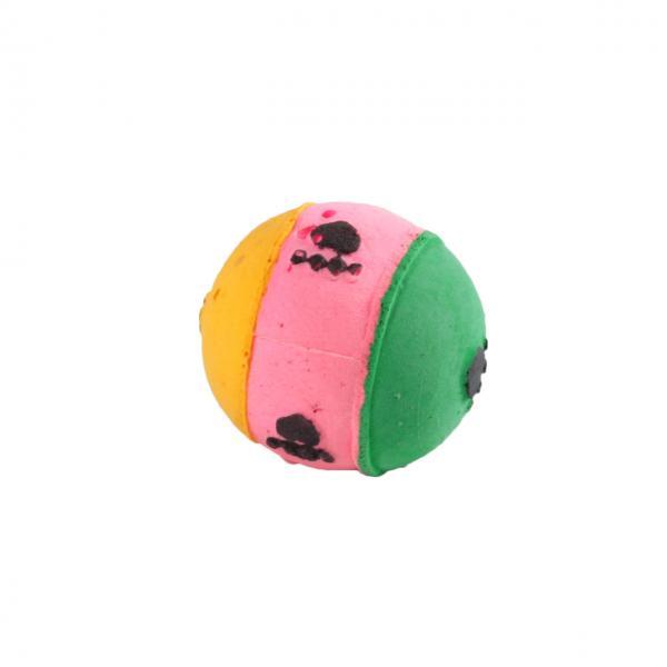 Мяч зефирный лапки трехцв, 4 см в пакете 4 шт