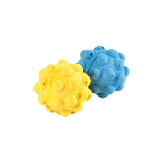 Мяч зефирный мина одноцв, 4,5 см в пакете 4 шт