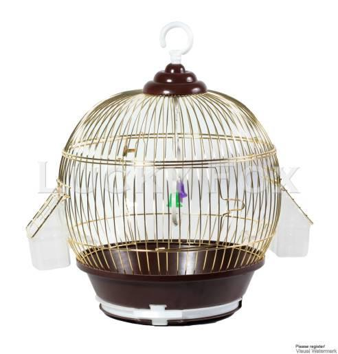 Клетка для птиц Dia золотая 35х59см