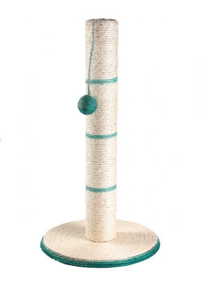Когтеточка-столбик на подставке с дразнилкой 35х35х62см Харьков, Киев, Херсон, Николаев