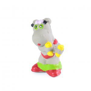 Фото Игрушки для собак, Грейферы, Игрушки из латекса Бегемот на шейпинге 11,2 см