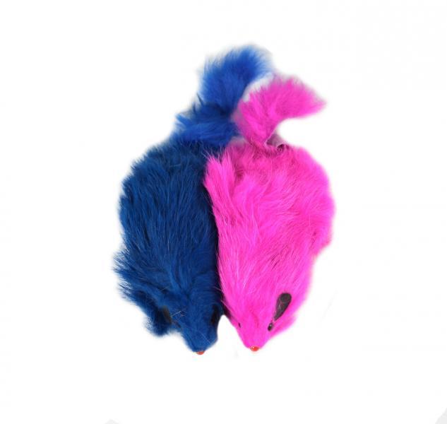 """Мышь 4"""" цветная в пакете 2 шт"""
