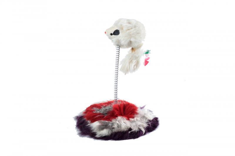 Мышь серая на подставке/88