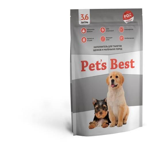 Силикагелевый наполнитель для туалетов щенков Pet's Best Gray 3.6л/8