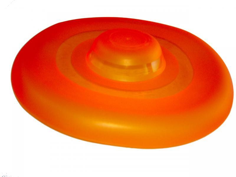 Тарелка летающая для собак (dog-frisbee), 23см
