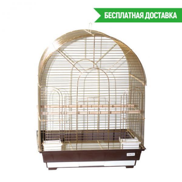 Клетка для птиц Astra золотая 52х41х66,5см