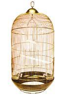 Фото Игрушки для птиц, аксессуары в клетку, Оптовым покупателям Клетка для птиц Diva (зол) d 48 х 84,5 см