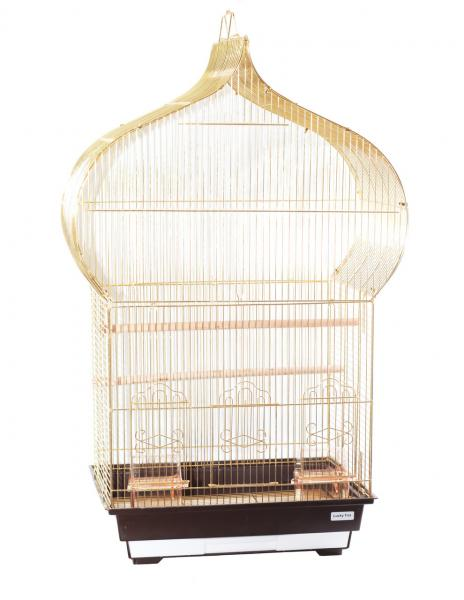 "Клетка  для птиц ""Jasmine"" (зол)  46,5х36х88 см"