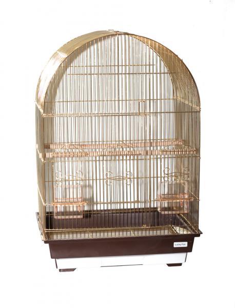 "Клетка  для птиц ""Violet"" (зол) 6100G 46,5х36х56см"