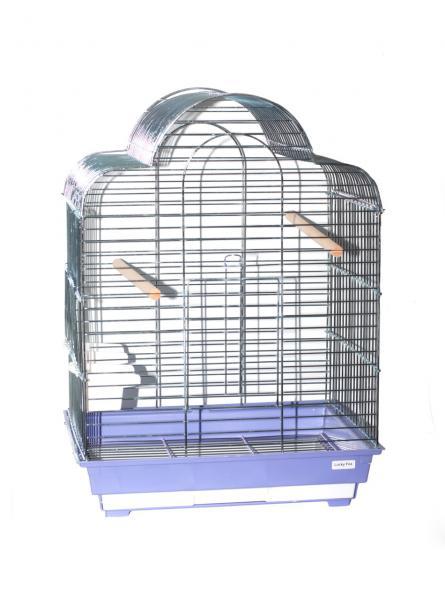 Клетка  для птиц Calla 1301Z (цинк)  52х41х71см