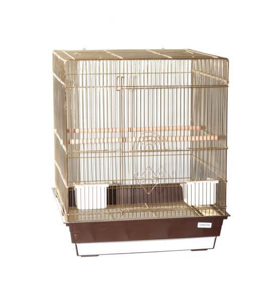Клетка  для птиц Pion 1034G (зол) 47.5 х 47.5 х 56cm
