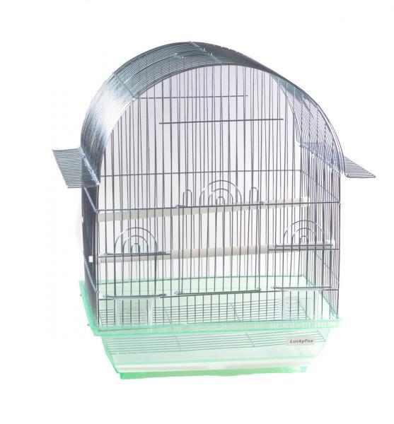 Клетка для птиц (цинк) 34,5 x 26 x 44 cm