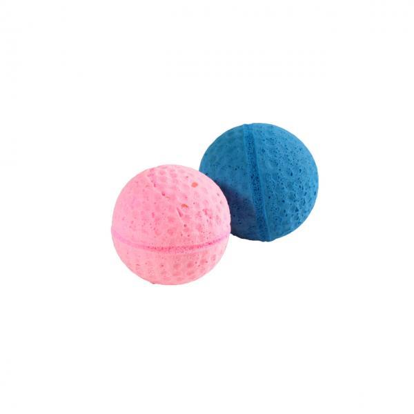 Мяч зефирный для гольфа одноцветный, 4,5 см в тубе 60 шт