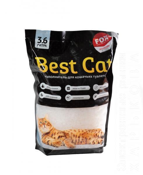 Силикагелевый наполнитель Best Cat White 3.6л - Туалеты для кошек, наполнители для туалета на рынке Барабашова