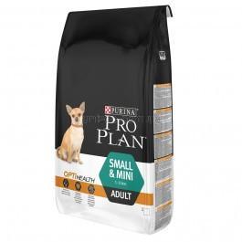Purina Pro Plan Adult Small and Mini с комплексом OPTIHEALT  для собак маленьких пород с курицей, 7 кг