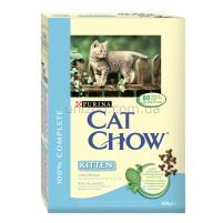 Cat Chow Kitten корм для котят с курицей, 0,4 кг