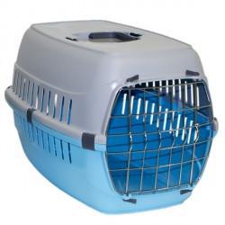 Moderna МОДЕРНА РОУД-РАННЕР 2 переноска для собак с металлической дверью, 58х35х37 см, ярко-голубой