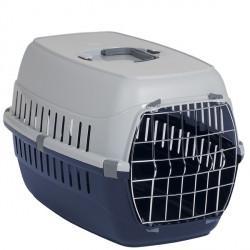 Moderna МОДЕРНА РОУД-РАННЕР 2 переноска для собак с металлической дверью, 58х35х37 см, кобальт синий