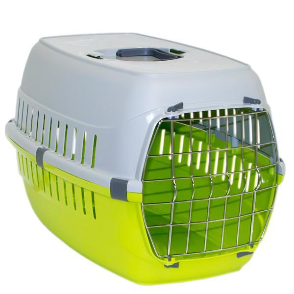 Moderna МОДЕРНА РОУД-РАННЕР 2 переноска для собак с металлической дверью, 58х35х37 см, ярко-зеленый