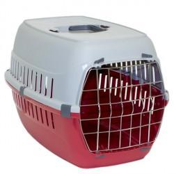 Moderna МОДЕРНА РОУД-РАННЕР 2 переноска для собак с металлической дверью, 58х35х37 см, красный кирпич