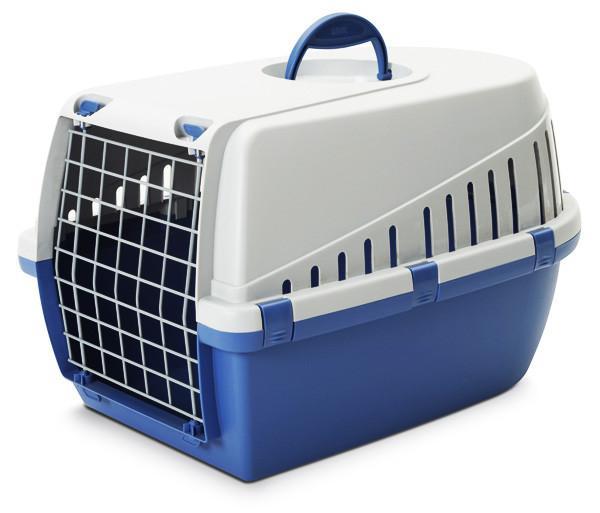 Savic ТРОТТЭР3 (Trotter3) переноска для собак, пластик, шоколадно-коричневый, 60,5Х40,5Х39 см