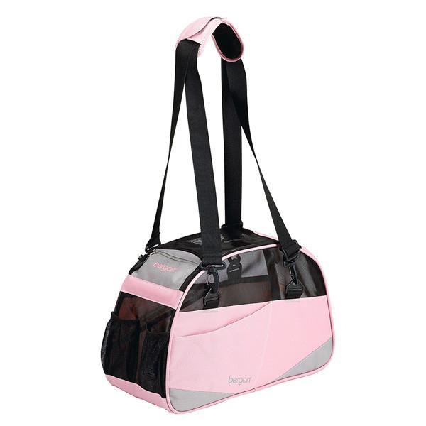 Bergan Voyager Comfort Carrier сумка переноска для собак и котов, розовый, S