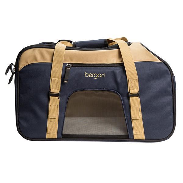 Bergan Top Loading Comfort Carrier сумка переноска для собак и котов, бежевый