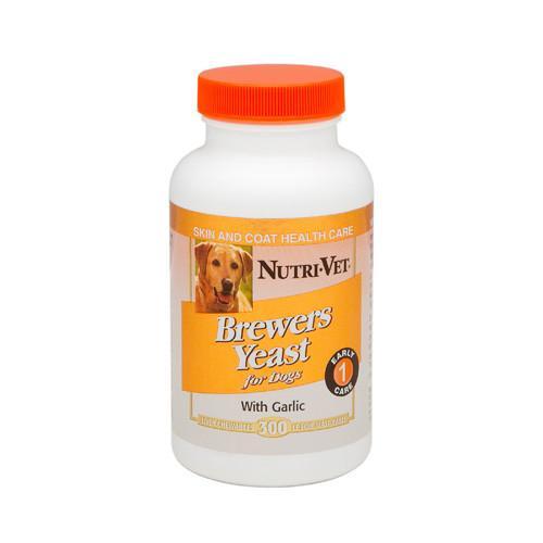Nutri-Vet Brewers Yeast НУТРИ-ВЕТ БРЕВЕРС ЭСТ витаминный комплекс для шерсти собак, жевательные таблетки, 300 табл.
