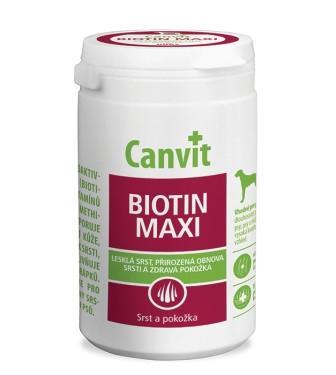 Canvit BIOTIN MAXI витаминно-минеральная добавка для собак, весом более 25 кг., 500 гр.