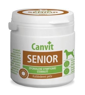 Canvit SENIOR витаминно-минеральная добавка для стареющих собак, 100 гр.