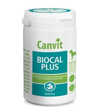 Canvit BIOCAL PLUS витаминно-минеральная добавка для собак для роста и укрепления костей, 230 гр.