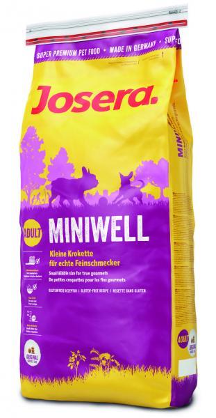 JOSERA Miniwell сухой корм для взрослых собак мелких пород, 4 кг