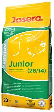 JOSERA Junior  полнорационный корм для щенков и молодых собак всех пород, 20 кг