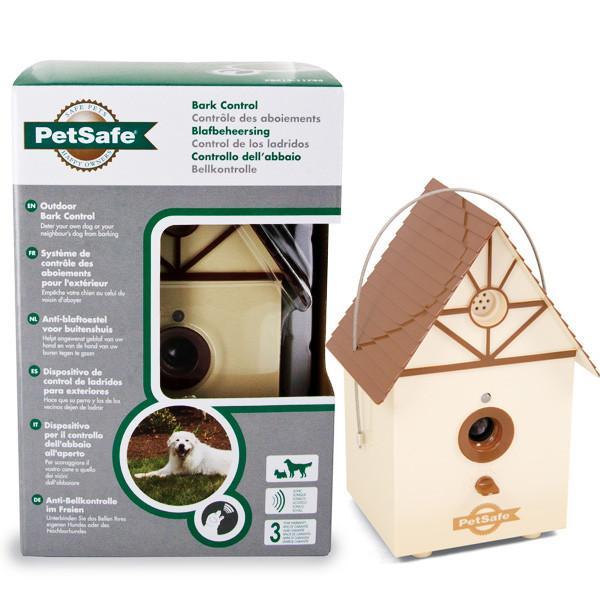 PetSafe Outdoor ПЕТСЕЙФ АУТДОР стационарное ультразвуковое устройство антилай для собак на улице, для дрессировки щенков, 4 режима работы, до 15м