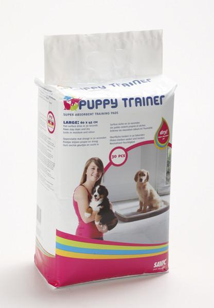 Savic ПАППИ ТРЭЙНЕР (Puppy Trainer) пеленки для собак, средний, 45Х30 см, 30 шт