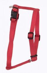 Coastal Nylon Adjustable шлея для собак, нейлон, красный, 2,5Х66-97 см