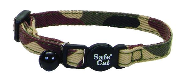 """Coastal Lit""""l Pals Safe Cat ошейник для котят, камуфляж, 0,8Х20 см"""