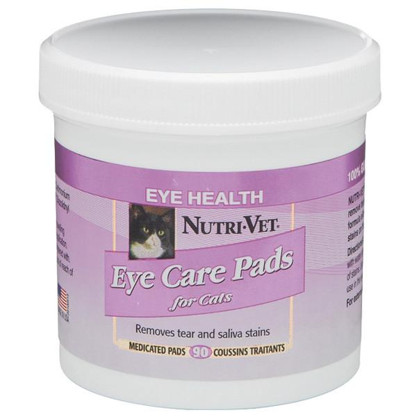 Nutri-Vet Tear Stain Removal cat НУТРИ-ВЕТ влажные салфетки для кошек для ухода за глазами