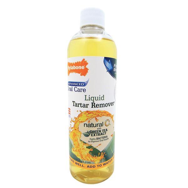 Nylabone Oral Care LIQUID TARTAR REMOVER жидкость от запаха из пасти для собак, 475 мл