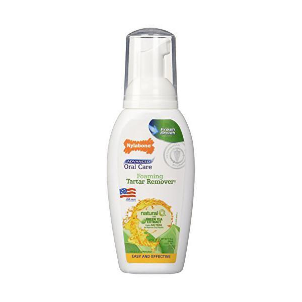 Nylabone Oral Care Natural Fresh Foam НИЛАБОН НАТЮРАЛ ФРЕШ ФОАМ пенка от запаха из пасти у собак, с экстрактом зеленого чая, 89 мл