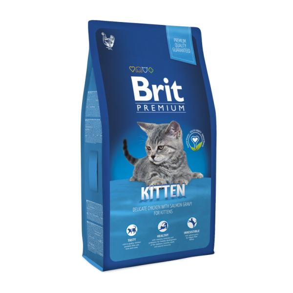 Brit Premium Cat Kitten для котят, 8 кг