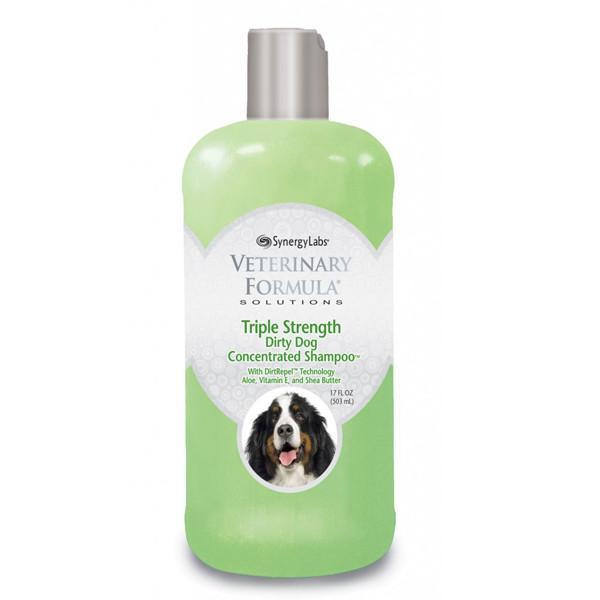 Veterinary Formula Shampoo Ветеринарная формула тройная сила грязеотталкивающий шампунь