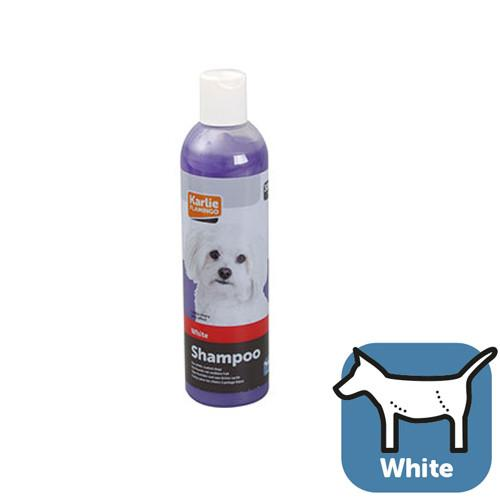 Karlie-Flamingo Shampoo White Coat КАРЛИ-ФЛАМИНГО шампунь для собак со светлой шерстью, 300 мл